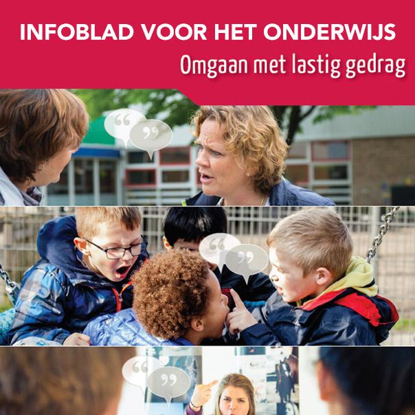 agressie op school: infoblad SSV